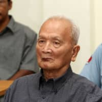Nuon Chea, Khmer Rouge's chief ideologist, dies at age 93