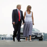 Trump claims wife Melania has 'gotten to know' North Korea's Kim — even though they've never met
