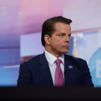 Anthony Scaramucci, former director of communications for the White House and founder of SkyBridge Capital II LLC, listens during a Bloomberg Television interview in New York Aug. 6. | BLOOMBERG