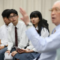 Aichi high schoolers pass on alumni's experiences of WWII air raids