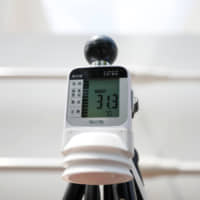 A temperature indicator measures 31.3 degrees Celsius during a test of heat countermeasures for the Tokyo 2020 Olympic and Paralympic Games in the Japanese capital on July 25.   REUTERS