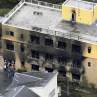 The July 18 arson attack at Kyoto Animation Co. claimed the life of renowned anime director Yasuhiro Takemoto, as well as 34 other victims. | KYODO
