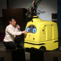 ZMP's food delivery robot ready to pick up the slack in graying Japan