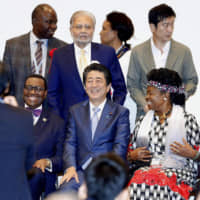 Abe pledges to push Japanese investment in Africa but steers clear of target at TICAD