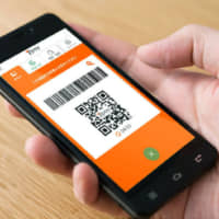 Cashing out: The 7pay smartphone payment system was hacked, affecting 808 users.   KYODO