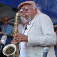 The power of music: Jazz saxophonist Charles Lloyd has been performing for 60 years. | FOREST FARM MUSIC + ART