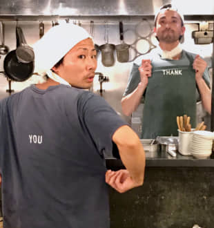 Words of appreciation: The staff at Ramen Thank convey their message to the customers in subtle ways. | ROBBIE SWINNERTON