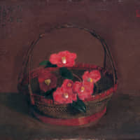 'Bamboo Basket Containing Spring' (1923) | PRIVATE COLLECTION