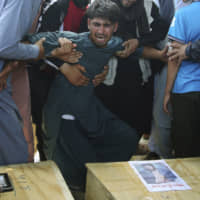 A deadly bombing in Kabul on Aug. 17 that killed dozens is a reminder that the war-weary country faces daily threats not only from the long-established Taliban but also from a brutal local affiliate of the Islamic State group.   AP