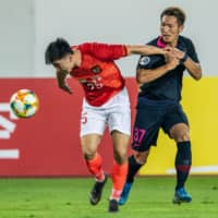 Antlers leave Guangzhou with scoreless draw