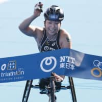 Paratriathlon World Cup cancels swimming leg due to poor water quality at Odaiba Marine Park
