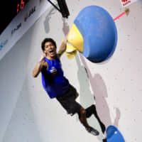 Tomoa Narasaki climbs to gold at world championships, punches ticket for 2020 Olympics