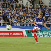 Theerathon notches first J. League goal in Marinos victory over Gamba