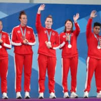 Canadian water polo teams show progress at Pan American Games, one year after Morioka camps