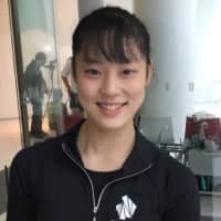 Tomoe Kawabata finished third at the Japan Junior Championships last season and is expected to contend for the title this season. | JACK GALLAGHER
