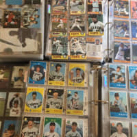 U.S. fan uses trading cards as one way to stay on top of Japanese baseball