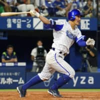 BayStars' Takayuki Kajitani atones for fielding miscue with clutch hit against Swallows