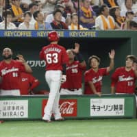 Carp continue post-All-Star surge with one-sided victory over Giants