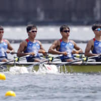 Rowers at Olympic test event treated for heatstroke symptoms