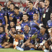 Japan continues to show mettle with impressive win over Tonga