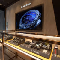 Interior of the newly-opened Seiko Prospex Boutique Ginza | SEIKO WATCH CORP.