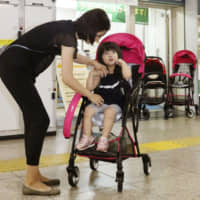 Train stations in Tokyo begin renting out strollers for monthlong trial