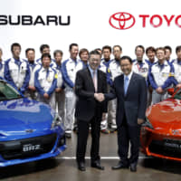 As carmakers struggle, Toyota and Subaru to raise stakes in each other's companies