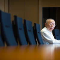 Fast Retailing Co.'s founder Tadashi Yanai has said Maki Akaida, who oversees Uniqlo's Japan operations, could potentially be his successor. | BLOOMBERG