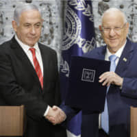 Weakened Netanyahu tapped by Israel's president to form new government