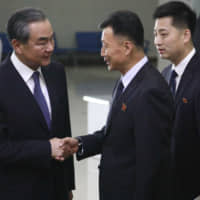 Top North Korean and Chinese diplomats meet in Pyongyang amid stalled nuclear talks with U.S.