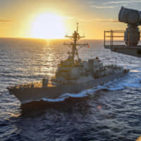 U.S. warship challenges Chinese claims in disputed South China Sea