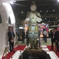 The ICOM Kyoto assembly meeting last week featured exhibits of the latest technology designed to preserve and protect cultural properties from damage during natural disasters. | ERIC JOHNSTON