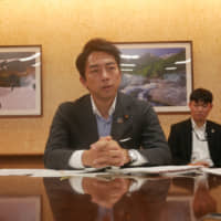 New Environment Minister Shinjiro Koizumi vows Japan will take lead role on plastic waste