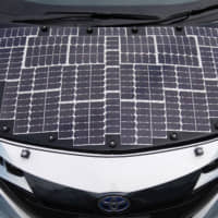 Toyota tests car covered in solar panels to make charging stations redundant