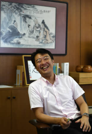 Ryutaro Miyazaki, an executive director of the Japan Go Association, started learning how to play go when he was 5 years old. | YOSHIAKI MIURA