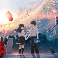 Young love: The beautiful CG and well-written characters, such as Ruri and Naomi, in 'Hello World' do much to offset its complicated storyline. | © 2019 'HELLO WORLD' SEISAKU IINKAI