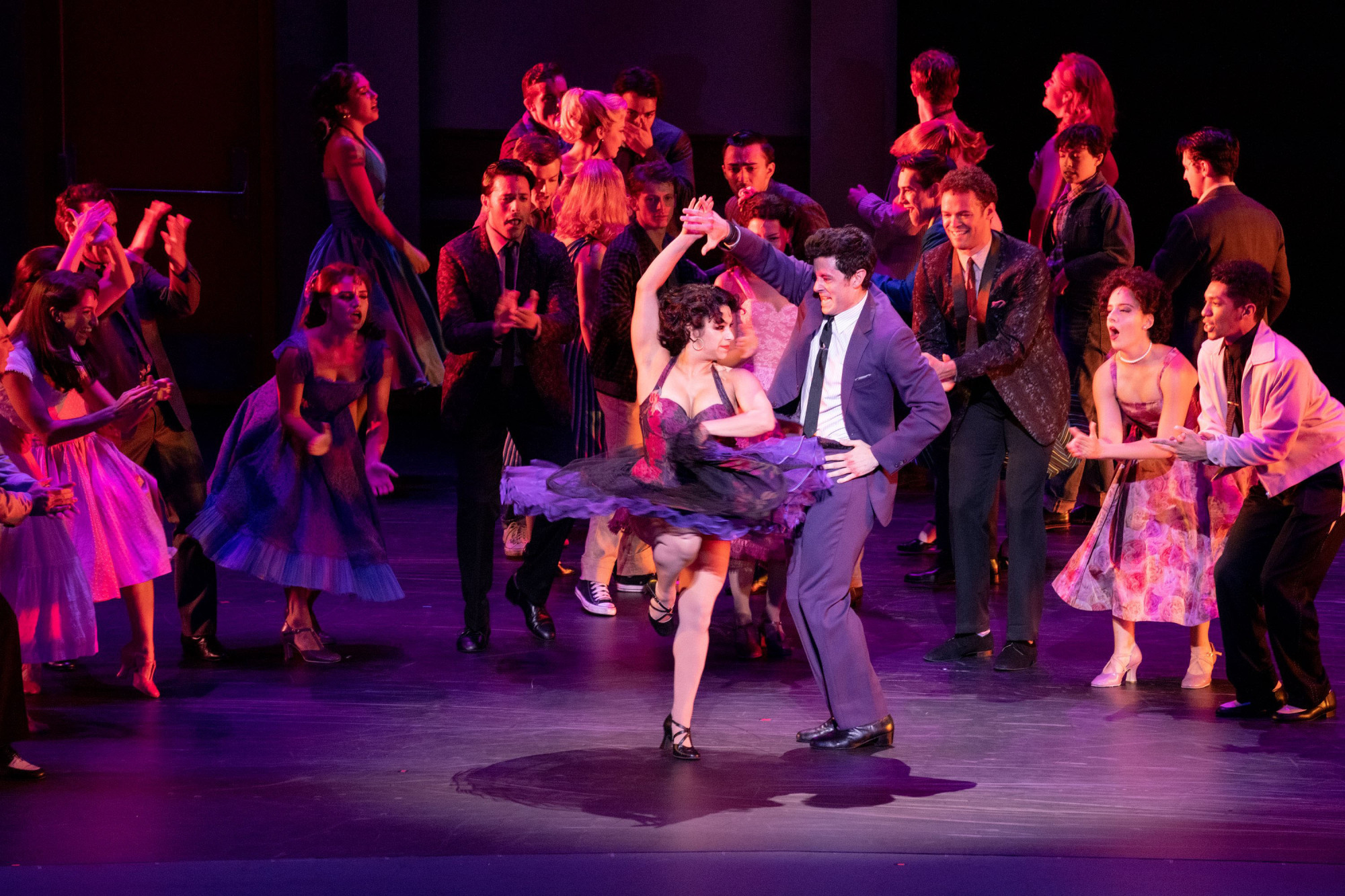 Something's coming: The production of 'West Side Story' features a Broadway cast first, before a Japanese cast takes over on Nov. 6. | JUN WAJDA