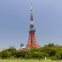 Ready for the climb: The TELL Tokyo Tower Climb ranks in endurance among climbs of some of the world's most famous manmade landmarks. | GETTY IMAGES
