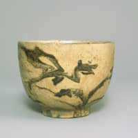 Tea bowl with marbled design (latter half of Edo Period, 1603-1868) | OLD TAMBA POTTERY MUSEUM COLLECTION