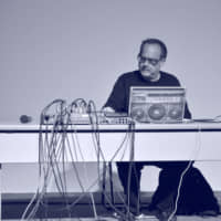 High voltage: Carl Stone has eschewed traditional musical instruments in favor of computers and electronics. | TOMOHIRO UESHIBA