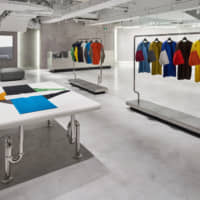 The retail section of the basement floor interior of Issey Miyake Semba | © ISSEY MIYAKE INC.  PHOTO BY MASAYA YOSHIMURA, COPIST