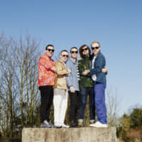 Standing tall: Hot Chip is known for the colorful and eccentric presence of its members. | RONALD DICK