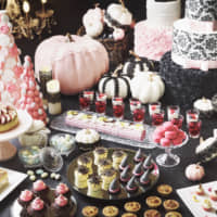 Revel in a chic, pastel-colored Halloween