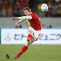 Wales hopes to keep putting best foot forward at RWC