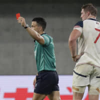 U.S. flanker John Quill receives three-match ban for high tackle against England