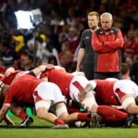 Wales players using baby oil to prepare for slick conditions at Rugby World Cup