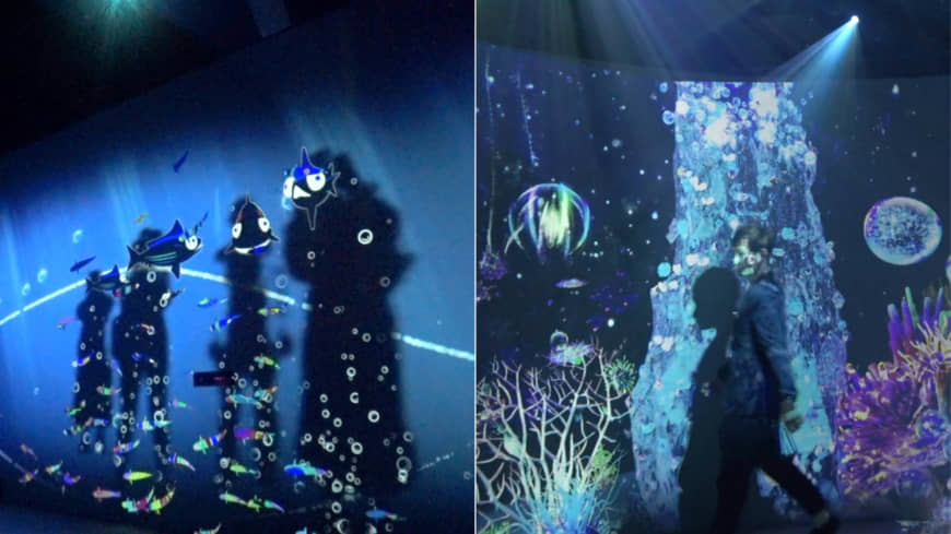 "[VIDEO] ""Ocean by Naked — The Deep Sea Illuminated"" in Yokohama"