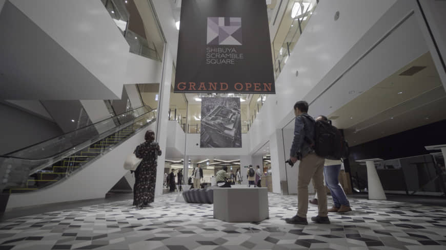 The interior of Shibuya Scramble Square, scheduled to open on Nov. 1. | KENDREA LIEW