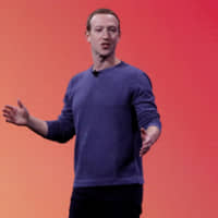 Facebook CEO Mark Zuckerberg makes his keynote speech during Facebook Inc.'s annual F8 developers conference in San Jose, California, April 30. | REUTERS