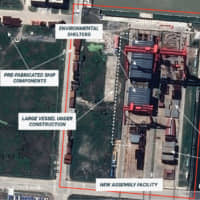 China's aircraft carrier 'factory' revealed in satellite images